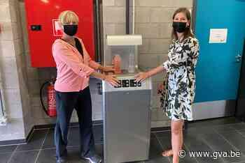 Sporthal Rooienberg plaatst twee drinkwatertoestellen (Duffel) - Gazet van Antwerpen Mobile - Gazet van Antwerpen