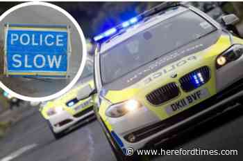 Police warn of delays as lorry shed load on road near Hereford