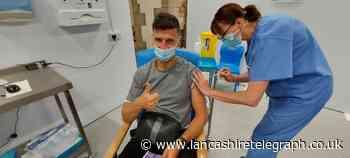 Blackburn Rovers players get coronavirus vaccine at Cathedral
