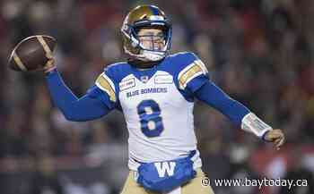 Blue Bombers finally get to unfurl Grey Cup banner, with a familiar foe watching
