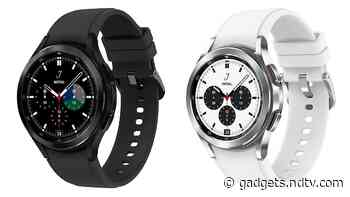 Samsung Galaxy Watch 4, Samsung Galaxy Watch 4 Classic Prices Leak Ahead of This Month's Expected Launch