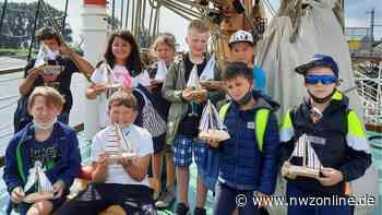 """Ferienpass-Aktion in Elsfleth: 20 Kinder basteln kleine """"Lissis"""" - Nordwest-Zeitung"""