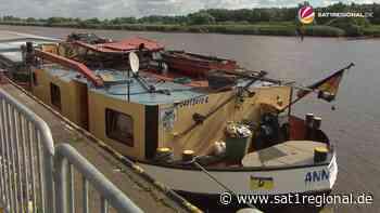 VIDEO | Schiff kollidiert mit Eisenbahndrehbrücke in Elsfleth - SAT.1 REGIONAL - Sat.1 Regional