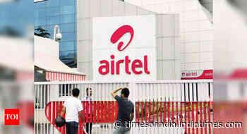 Bharti Airtel net profit at Rs 284 crore in June quarter; revenue rises 15.3%
