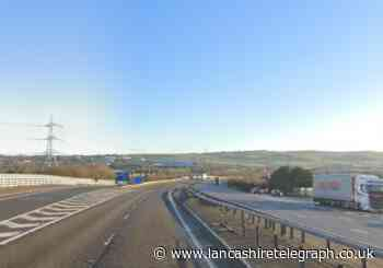 Person suffered severe injuries falling from bridge on M65