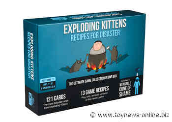 Exploding Kittens launches two new card games and expands into the puzzles space - Toy News