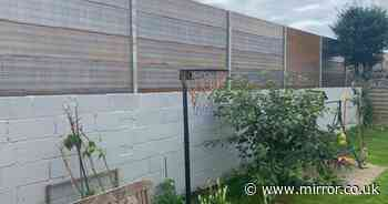 Furious residents blast 3.5m fence that has made their homes feel 'like prison'