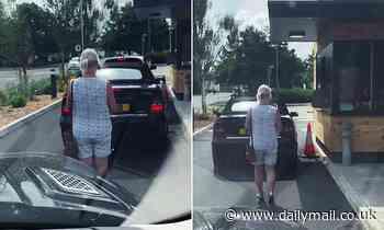 Costa customer refused service when she strolls through drive-thru on foot in bid to get a hot drink