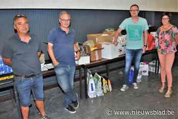Luik ontvangt Linterse hulpgoederen met open armen