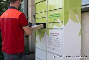 Bpost installeert groene pakjesautomaten op stadsparkings