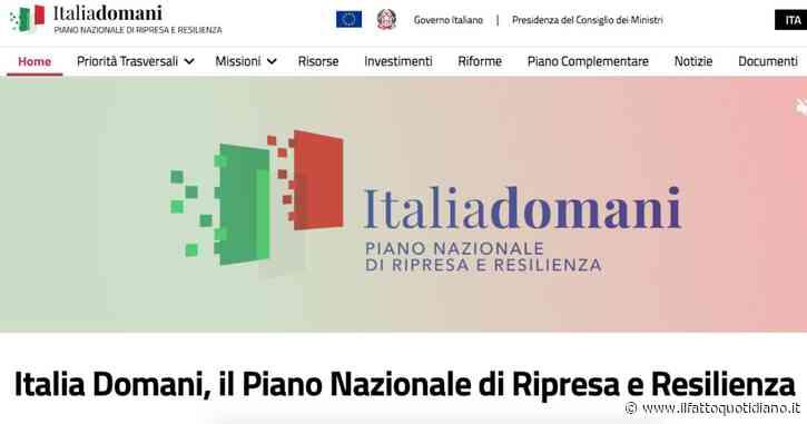 Italia Domani, online il portale per monitorare lo stato di avanzamento del Piano Nazionale di Ripresa e Resilienza