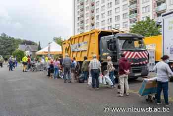 Al 1.357 Gentenaars gingen naar 'mobiel recyclagepark': al meer afval opgehaald dan heel vorig jaar