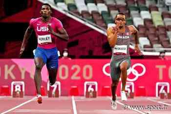 JO 2020 / Athlétisme : Lyles a eu chaud, De Grasse meilleur temps des demies sur 200 m - Sport.fr