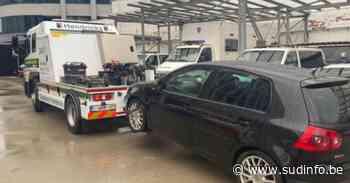 Trop, c'est trop: les policiers belges n'ont plus eu le choix et ont dû saisir le véhicule de ce conducteur - Sudinfo.be