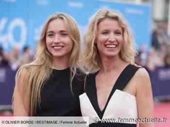 """Alexandra Lamy, très émue par sa fille Chloé Jouannet : """"J'ai eu les larmes aux yeux"""" - Femme Actuelle.fr"""