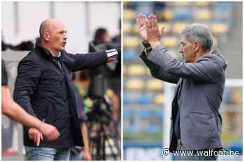"""Clement et Mazzù s'expriment à propos de la préparation: """"Certains clubs ont eu une plus longue préparation que d'autres"""" - Walfoot.be"""