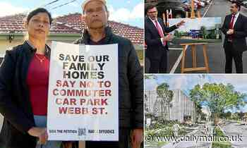 Desperate battle to stop beloved family homes being demolished and turned into a giant CAR PARK