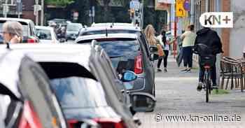 Maienbeeck in Bad Bramstedt: Autos müssen runter vom Bürgersteig - Kieler Nachrichten