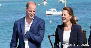 Prince William and Kate take George, Charlotte and Louis on sunny UK staycation