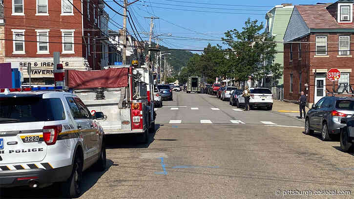 SWAT, Pittsburgh Police Called To South Side Home For Man Throwing Objects Out Of His Window