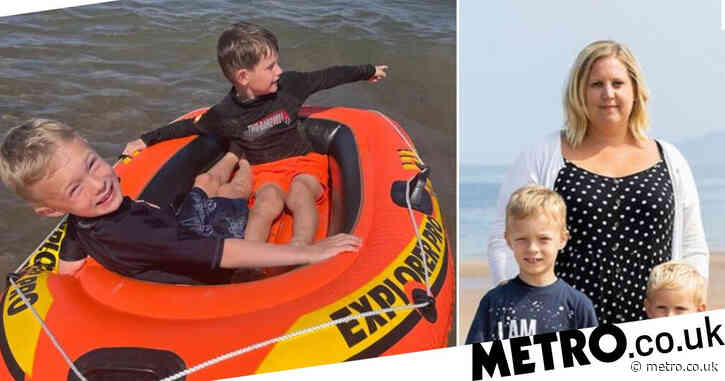 Boy screamed 'am I going to die' as he was swept out to sea on dinghy