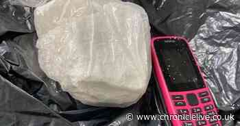 Two arrested and £16,000 worth of cocaine seized in Sunderland