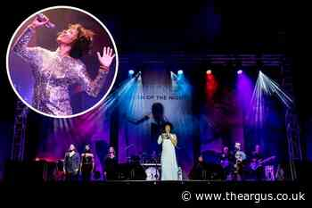 Whitney Houston tribute show coming to Worthing this month