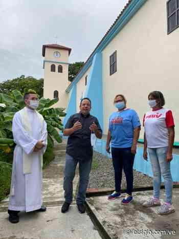 Gobernador inspeccionó restauración de iglesia de Camatagua - Diario El Siglo