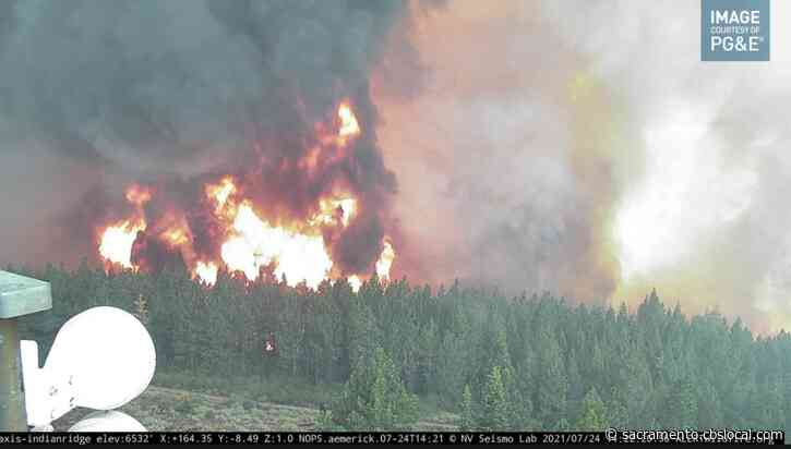 Fly Fire That Merged With Larger Dixie Fire Possibly Caused By Tree Falling Onto PG&E Equipment