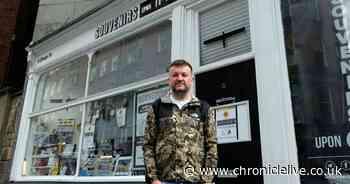 Heartbreak after vandal damages window of gift shop in city centre