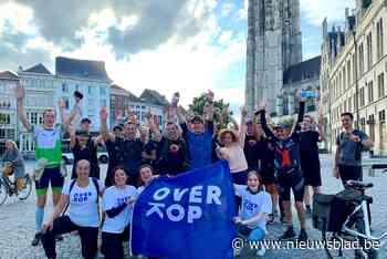 Mechelaars supporteren voor ultraloper die 600 kilometer in week aflegt