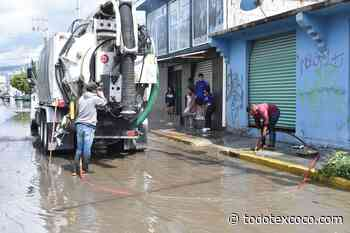 #Chimalhuacán activa Plan de Contingencias por lluvias en el Ejido Santa María - todotexcoco.com