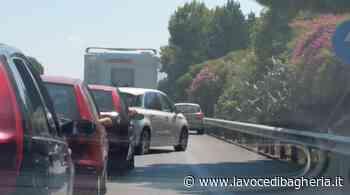 Lunghe code sull'autostrada fra Villabate e Bagheria per dei lavori in corso - La Voce di Bagheria