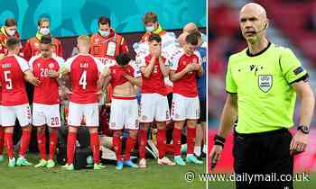 Ref Anthony Taylor opens up for the first time on Christian Eriksen's horror collapse