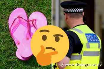 2,500 pairs of flip-flops stolen from a garage in Horsham