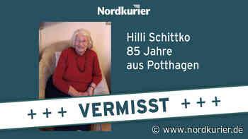 85-Jährige vermisst – vermutlich mit Auto unterwegs - Nordkurier