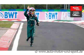 Formel Schmidt GP Ungarn 2021: Aston-Fehler klaut Vettel das Podium - auto motor und sport