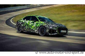 Audi RS3 fährt Nordschleifenrekord: Schnellste Zeit für Kompakte   AUTO MOTOR UND SPORT - auto motor und sport