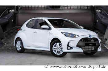 Toyota Yaris Hybrid Ecovan: Kleinwagen wird Transporter   AUTO MOTOR UND SPORT - auto motor und sport