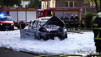Wagen ging in Flammen auf: Mann stirbt nach Auto-Explosion in Hürth - n-tv NACHRICHTEN