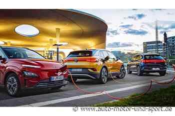 Eine Millionen Elektroautos in Deutschland   AUTO MOTOR UND SPORT - auto motor und sport