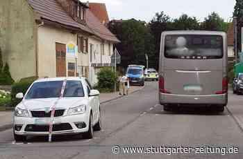 Unfall im Kreis Heilbronn - Elfjähriger von Auto erfasst und schwer verletzt - Stuttgarter Zeitung