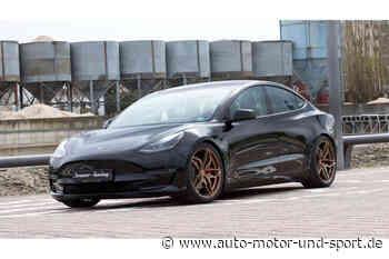 Senner Tesla Model 3: Tuner erhöht Reichweite und Komfort - auto motor und sport
