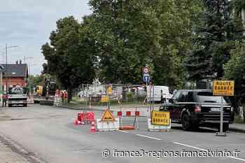 """Strasbourg : des travaux bloquent la route de la Wantzenau et suscitent l'ire des commerçants : """"je travaille - France 3 Régions"""