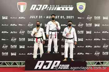 No Rio de Janeiro, atleta de jiu-jitsu do Bolsa Talento conquista medalhas de ouro e bronze - Para