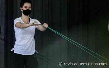 Nathaia Dill faz treino funcional no Rio de Janeiro - Quem Acontece