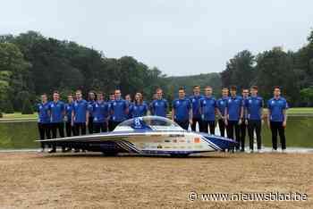 Voor het eerst op drie wielen: Agoria Solar Team onthult nieuwe Belgische zonnewagen - Het Nieuwsblad
