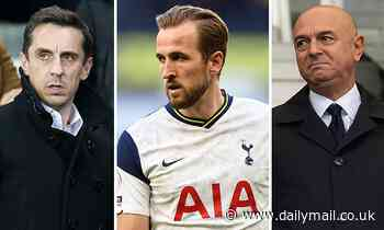 Tottenham: Harry Kane is on a 'collision course' with Daniel Levy, insists Gary Neville