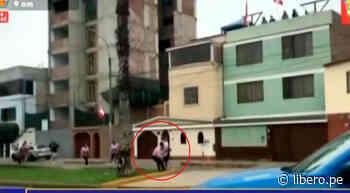 Barristas de Alianza Lima y Sport Boys se enfrentaron en las calles de San Miguel - Libero.pe