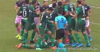 Alianza Lima vs. Sport Boys: Codazo de Cachito Ramírez desató conato de bronca - América Televisión